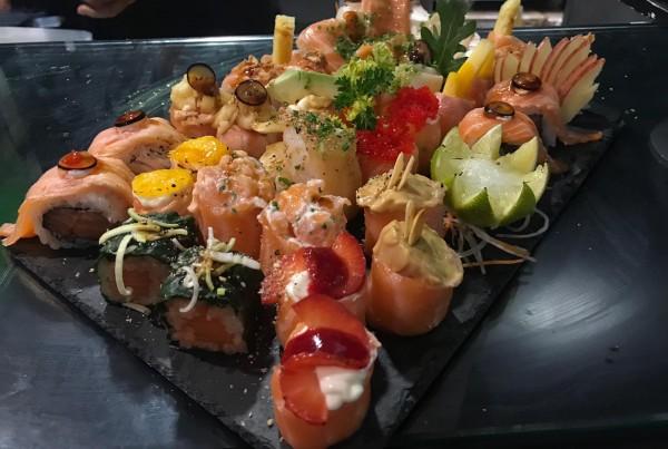 Combinado de sushi 9