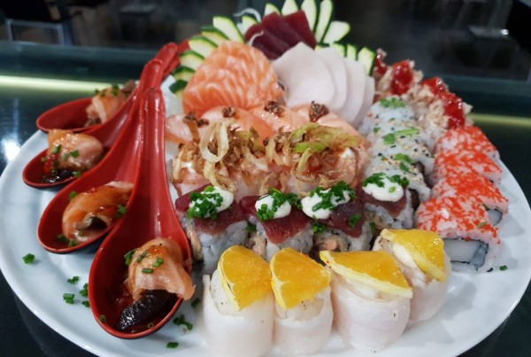 Combinado de sushi 2