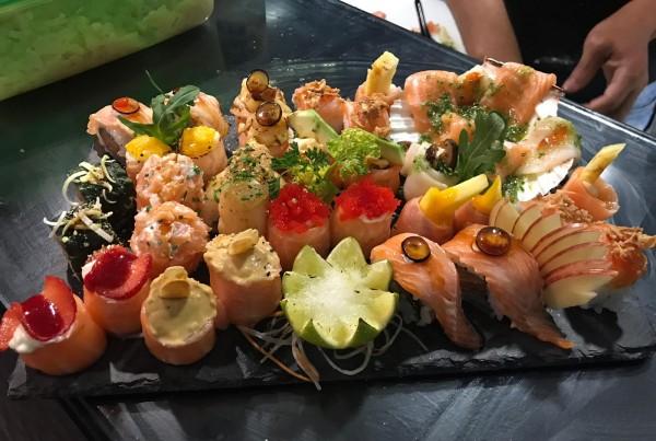 Combinados de sushi 7