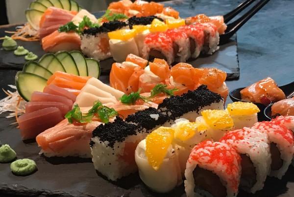 Combinado de sushi 8