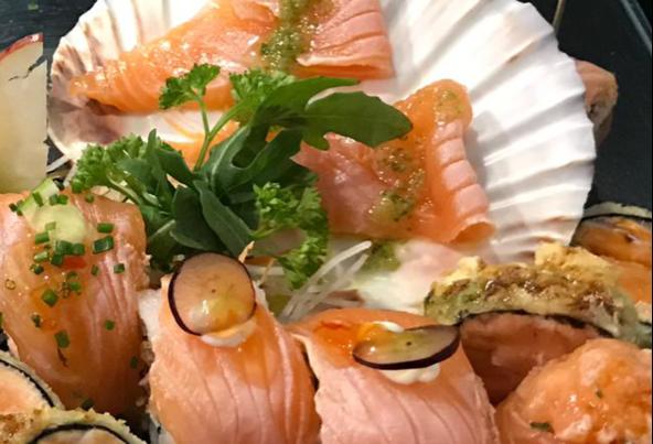 Peças de sushi 10