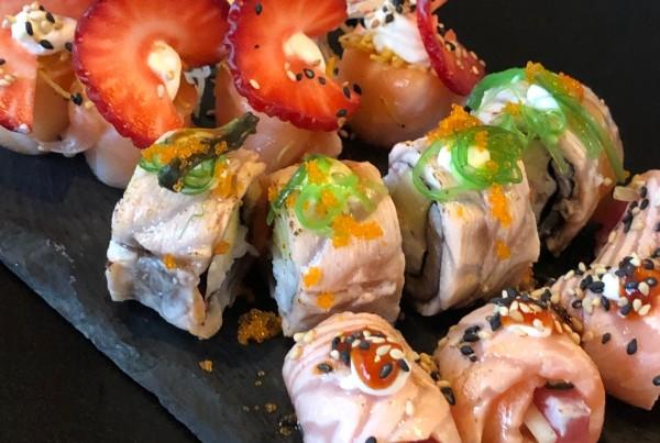 Peças de sushi 8