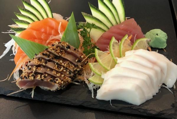 Peças de sashimi 1