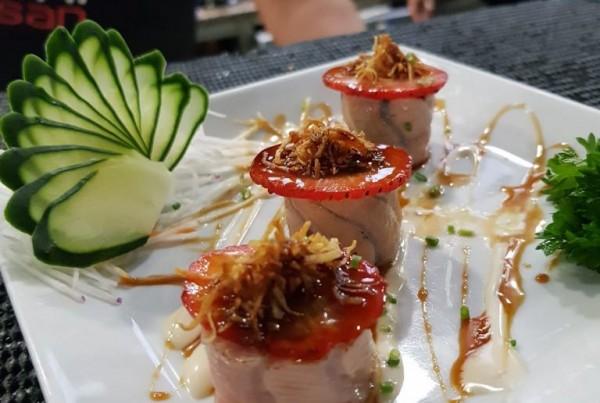 Peças de sushi 4