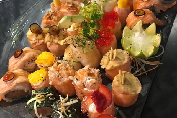 Peças de sushi 17