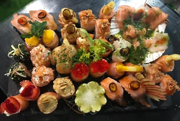 Peças de sushi 15