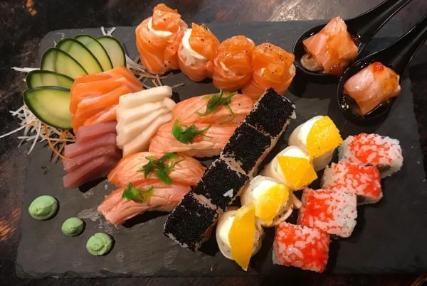 Peças de sushi 14